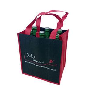 custom wine bottle bags