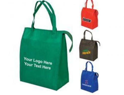 EC-07 Reusable grocery shopping non woven blank tote bags with zipper