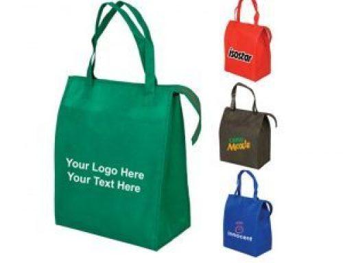 EC-07 Reusable grocery shopping non woven blank tote bags with zipper