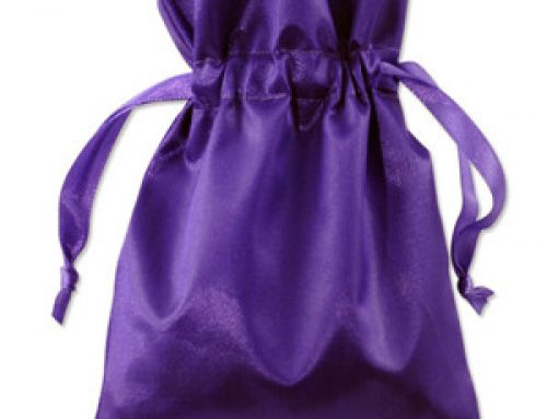 PB-04 Purple jewelry pouch