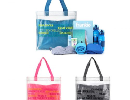 TB-002 PVC transparent   tote bag