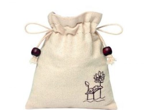 TB-070 Cotton drawstring gift bag