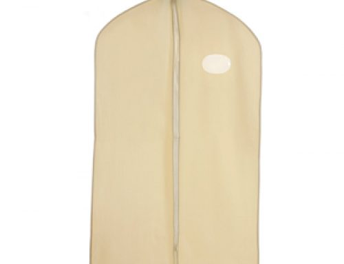 TOD49 Zippered PEVA suit cover with oval window