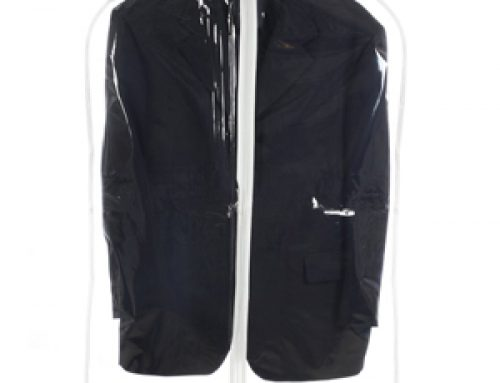 TOS-04 Clear PVC/Vinyl garment bag