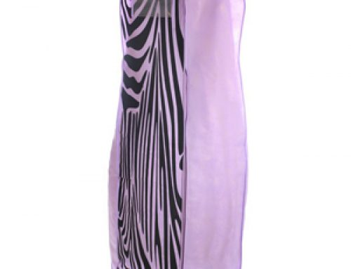 TOW-01 2019 Zebra printing breathable wedding gown dress bag