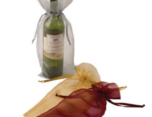 WB-012 Organza wine bag