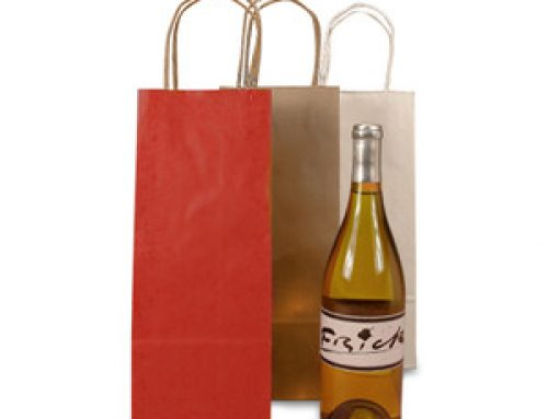 WB-06 Paper one bottle tote  bag
